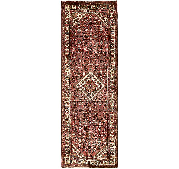 105cm x 310cm Hossainabad Persian Run...