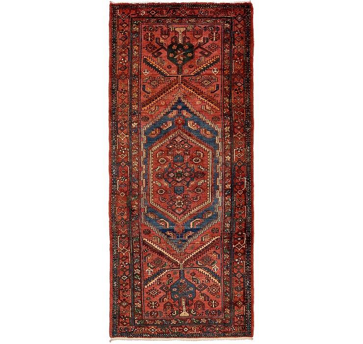 4' 3 x 9' 10 Zanjan Persian Runner Rug