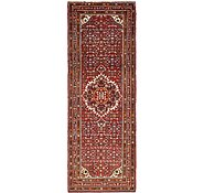 Link to 115cm x 312cm Hossainabad Persian Runner Rug