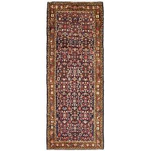 3' 7 x 10' Hossainabad Persian Run...