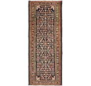 Link to 3' 8 x 9' 3 Hossainabad Persian Runner Rug