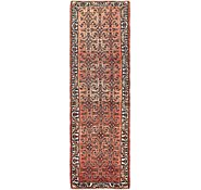 Link to 85cm x 285cm Hossainabad Persian Runner Rug