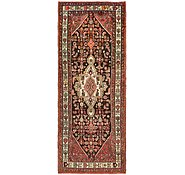 Link to 3' 7 x 9' 3 Hossainabad Persian Runner Rug