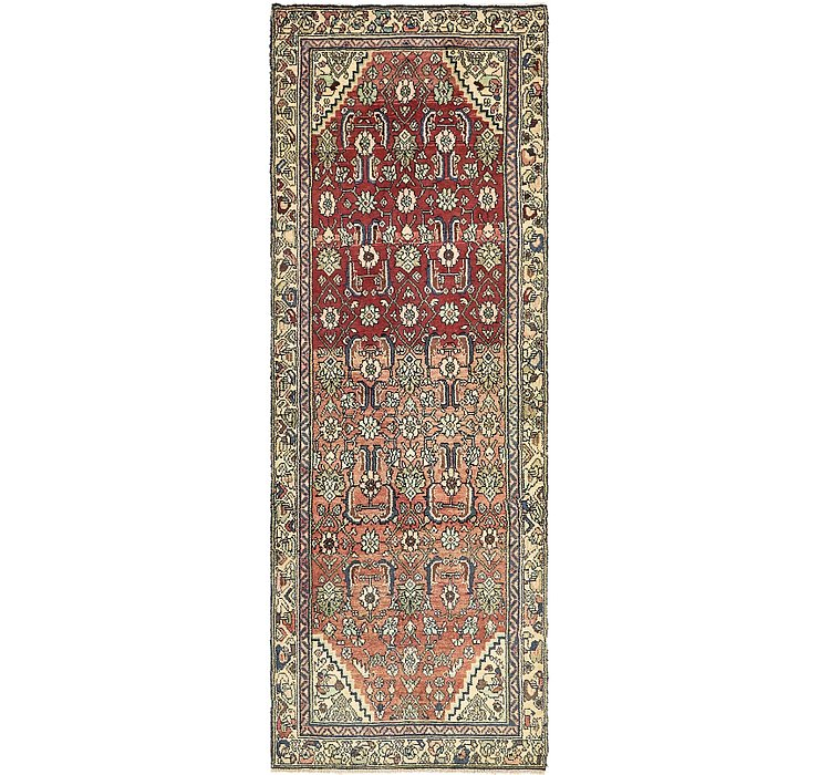 3' 2 x 8' 10 Khamseh Persian Runner ...