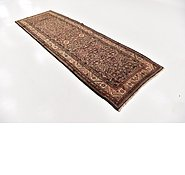 Link to 3' 10 x 11' 4 Hossainabad Persian Runner Rug