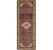 Link to 112cm x 310cm Hossainabad Persian Runner Rug