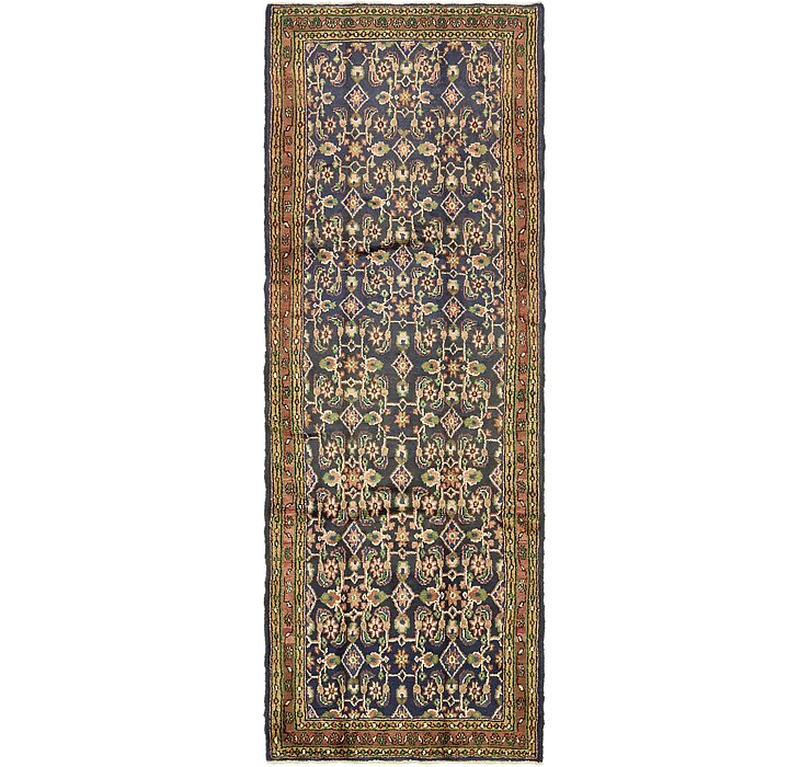 3' 7 x 10' Khamseh Persian Runner ...