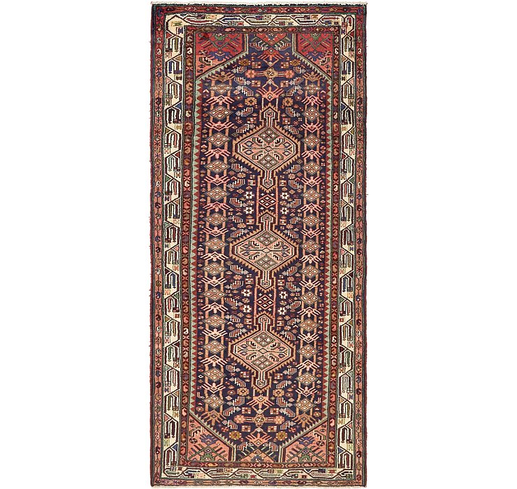 3' 11 x 8' 9 Darjazin Persian Runner...