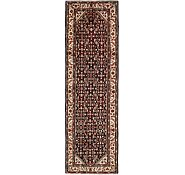 Link to 3' 9 x 11' 6 Hossainabad Persian Runner Rug