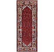 Link to 3' 10 x 9' 1 Hossainabad Persian Runner Rug