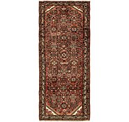 Link to 3' 10 x 9' Hossainabad Persian Runner Rug
