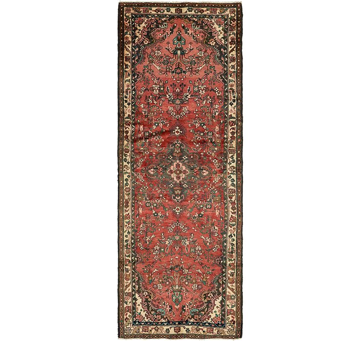 3' 5 x 9' 6 Khamseh Persian Runner ...