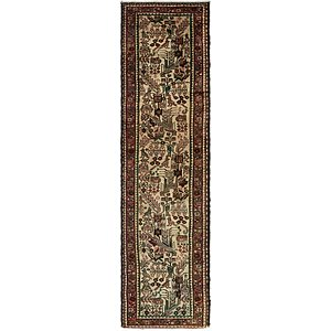 2' 5 x 9' 9 Roodbar Persian Runner ...