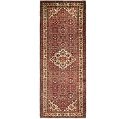 Link to 4' x 10' 3 Hossainabad Persian Runner Rug