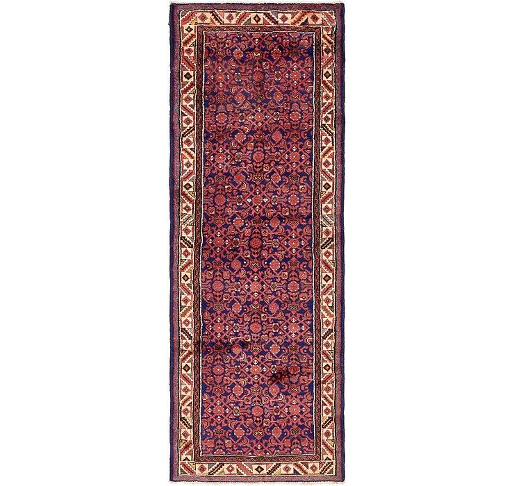 3' 7 x 9' 5 Hossainabad Persian Run...