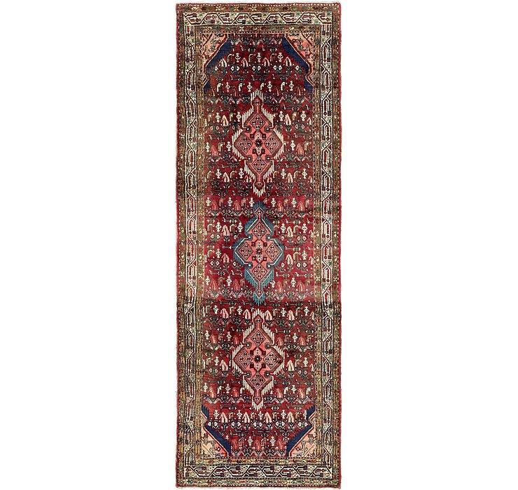112cm x 312cm Hossainabad Persian Run...