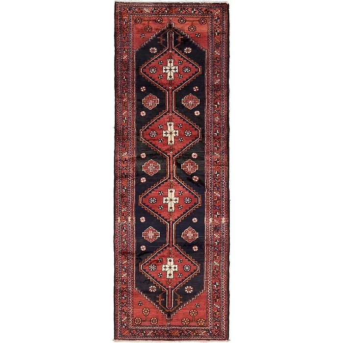 3' 7 x 10' 2 Borchelu Persian Runner...
