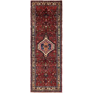 3' 5 x 10' 3 Hamedan Persian Runner ...