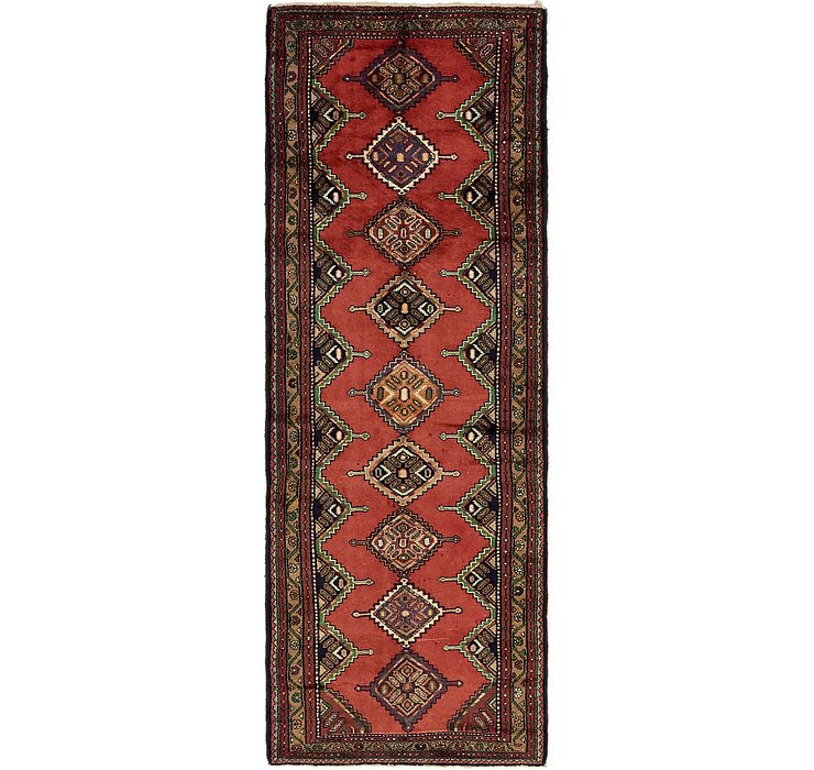 3' 6 x 9' 8 Chenar Persian Runner Rug