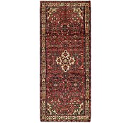 Link to 3' 10 x 9' 6 Hossainabad Persian Runner Rug