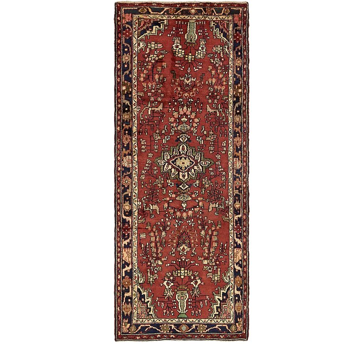 3' 4 x 9' Hamedan Persian Runner ...