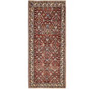 Link to 3' 8 x 8' 10 Hossainabad Persian Runner Rug