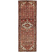 Link to 110cm x 302cm Hossainabad Persian Runner Rug
