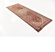 Link to 3' 7 x 10' 3 Hossainabad Persian Runner Rug