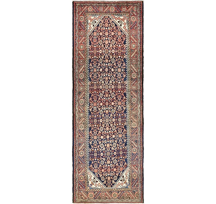 107cm x 312cm Hossainabad Persian Run...