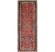 Link to 3' 8 x 9' 9 Hamedan Persian Runner Rug