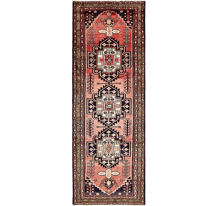 3' 5 x 9' 9 Khamseh Persian Runner ...