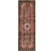 Link to 3' 5 x 9' 5 Hossainabad Persian Runner Rug
