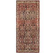Link to 3' 6 x 8' Hossainabad Persian Runner Rug