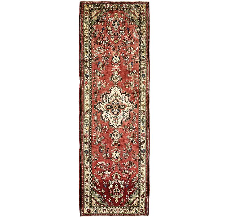 102cm x 323cm Mehraban Persian Runner...