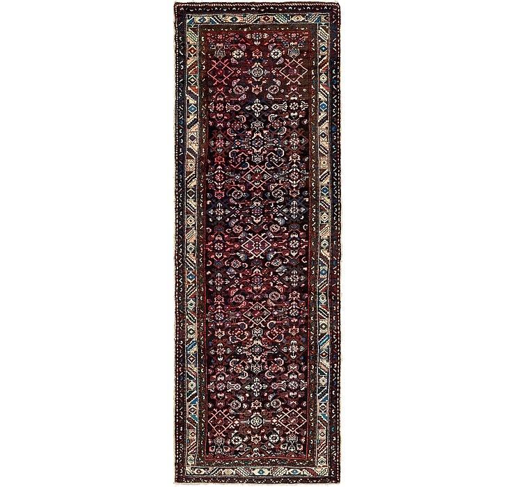 3' 6 x 9' 10 Hossainabad Persian Run...