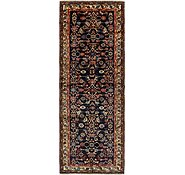 Link to 3' 7 x 10' Hossainabad Persian Runner Rug