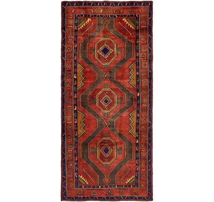 4' 3 x 9' 5 Sirjan Persian Runner Rug