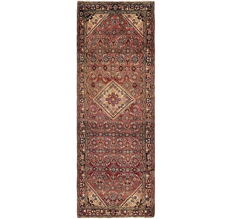 107cm x 310cm Hossainabad Persian Run...