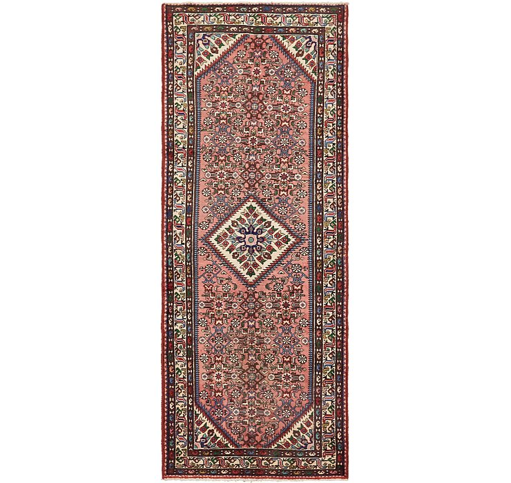 110cm x 287cm Hossainabad Persian Run...