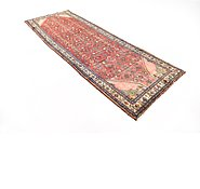 Link to 110cm x 320cm Hossainabad Persian Runner Rug