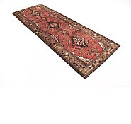 Link to 3' 5 x 9' 8 Khamseh Persian Runner Rug
