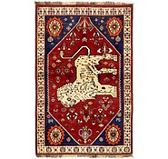 Link to 4' 2 x 6' 5 Ghashghaei Persian Rug
