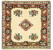 Link to 5' 1 x 5' 3 Bakhtiar Persian Square Rug