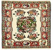 Link to 4' 6 x 4' 11 Bakhtiar Persian Square Rug
