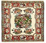 Link to 137cm x 150cm Bakhtiar Persian Square Rug