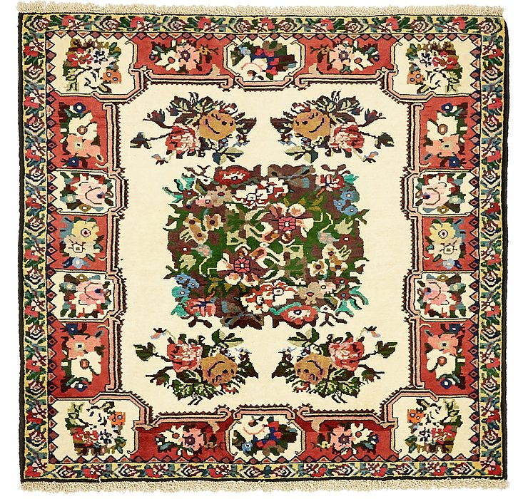 4' 6 x 4' 11 Bakhtiar Persian Square...