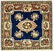 Link to 4' 10 x 5' 2 Bakhtiar Persian Square Rug