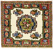 Link to 4' 8 x 5' 2 Bakhtiar Persian Square Rug