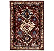 Link to 3' 6 x 5' Yalameh Persian Rug