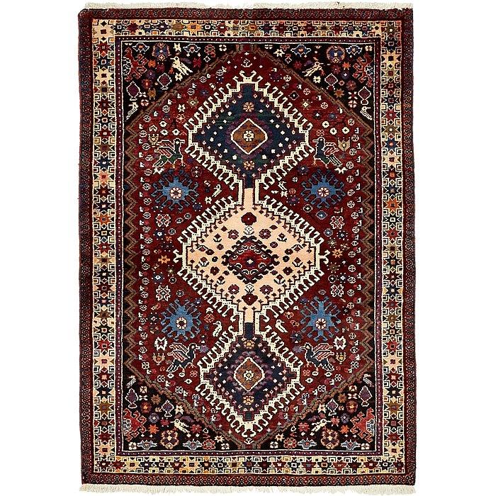 3' 6 x 5' Yalameh Persian Rug